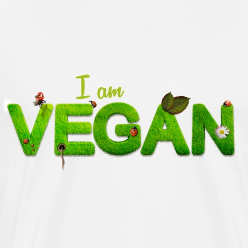 I am VEGAN - T-shirt Premium Homme