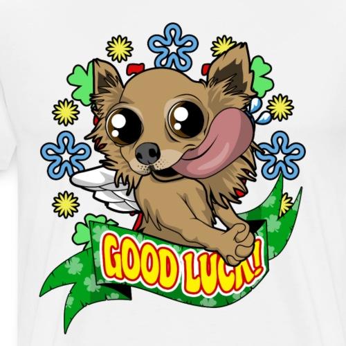 Chihuahua Viel Glück süßes Geschenk zum Geburtstag - Männer Premium T-Shirt