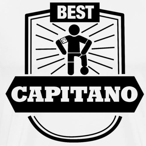 Best Capitano Shirt - Fußball Kapitän - Männer Premium T-Shirt