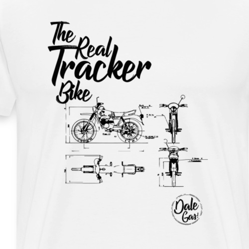 Diseño Puch Minicross TT 1982 - Camiseta premium hombre