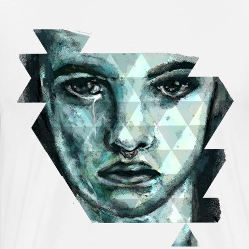Gesicht - Männer Premium T-Shirt