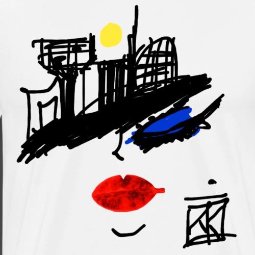 FACCE di MòKIKA velasca - Maglietta Premium da uomo