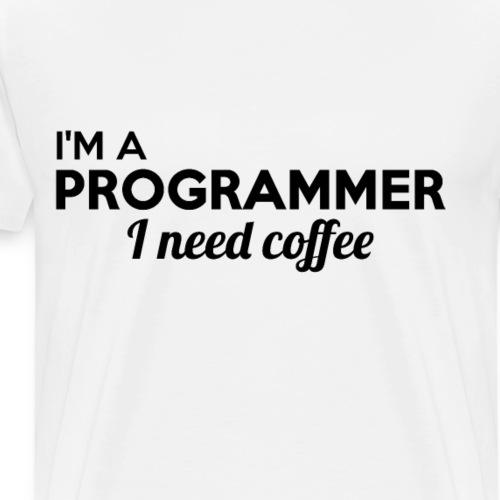 PROGRAMMER imprint! cool gift ideas - Men's Premium T-Shirt