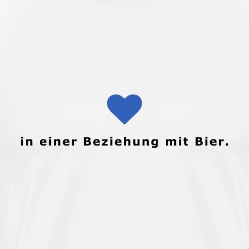 In einer Beziehung mit Bier - Männer Premium T-Shirt