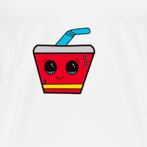Cute Soda - Herre premium T-shirt
