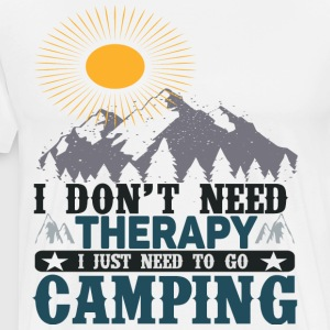 Need camping - Men's Premium T-Shirt