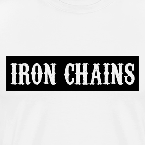 Banner Black - Männer Premium T-Shirt