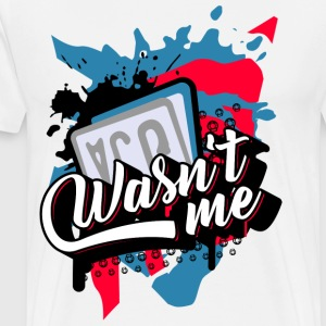 Scooter Tuning Vol. II - Was not me It was not me - Men's Premium T-Shirt