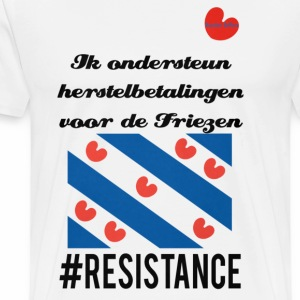 #Resistance - Mannen Premium T-shirt