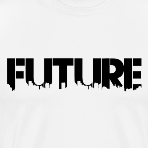 Future Black - Herre premium T-shirt