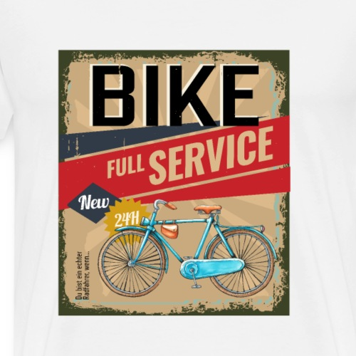 Bike full service - Fahrrad Sercice - Männer Premium T-Shirt