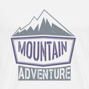Mountain Adventure - T-shirt Premium Homme