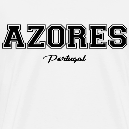 Azores Portugal - Männer Premium T-Shirt