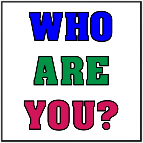 Who are you? - Men's Premium T-Shirt
