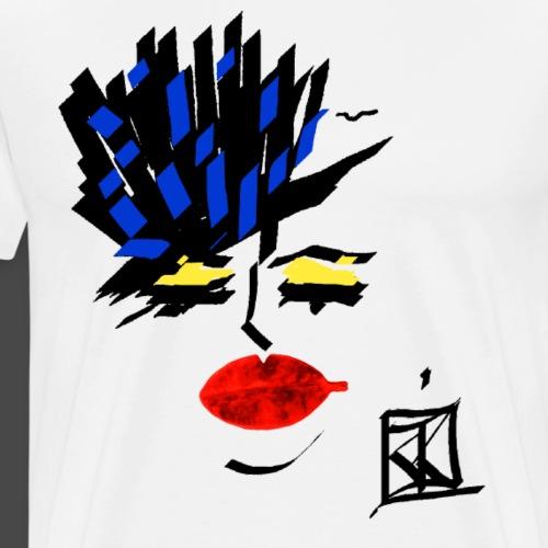 FACCE di MòKIKA ghotam city - Maglietta Premium da uomo