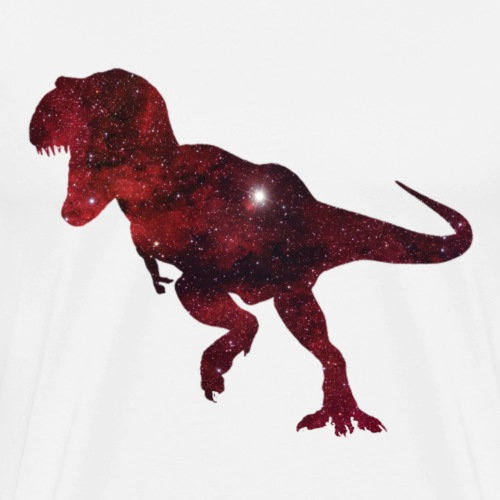 T-Rex in Space - Männer Premium T-Shirt