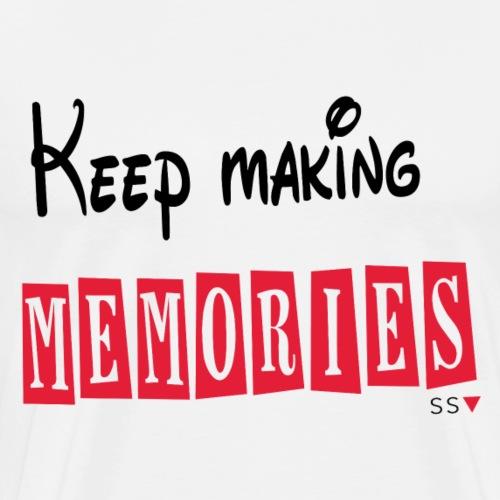 Keep Making Memories (For light colours) - Men's Premium T-Shirt
