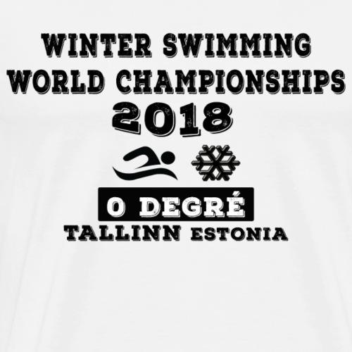 championnat du monde 2018 - T-shirt Premium Homme
