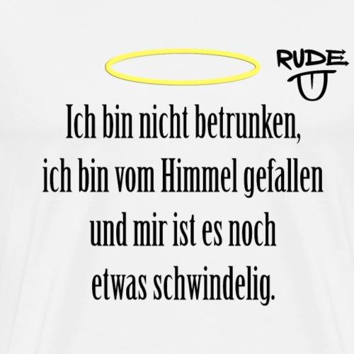 betrunkener Engel - Männer Premium T-Shirt