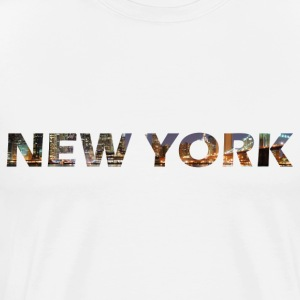 New York - Mannen Premium T-shirt