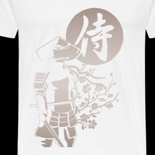 Samouraï dégradé - T-shirt Premium Homme