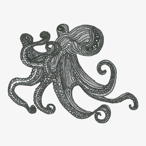Octopus - Männer Premium T-Shirt