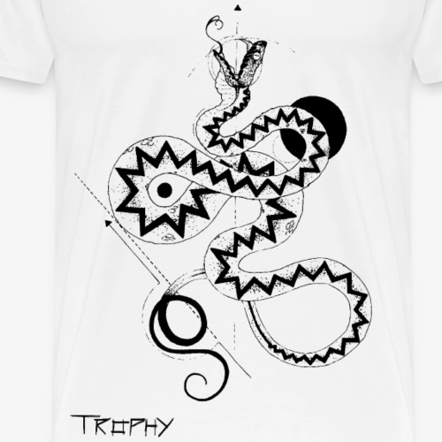 Kreuzotter - Männer Premium T-Shirt