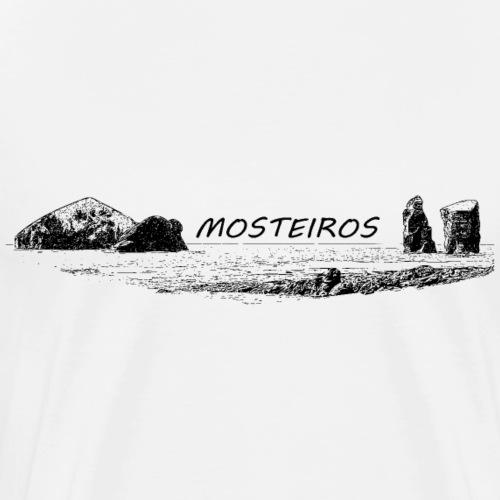 Mosteiros Azoren Portugal - Männer Premium T-Shirt