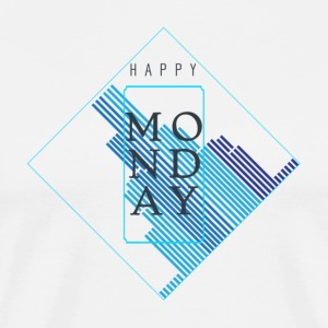 Happy Monday - Men's Premium T-Shirt