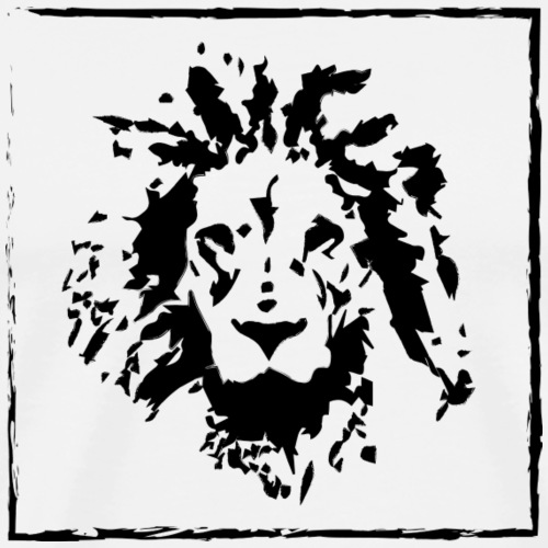 lion graphic - Männer Premium T-Shirt