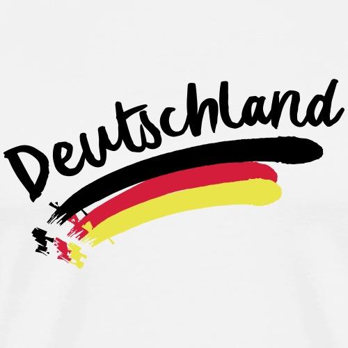 Deutschland Weltmeisterschaft 2018 WM T-Shirt - Männer Premium T-Shirt