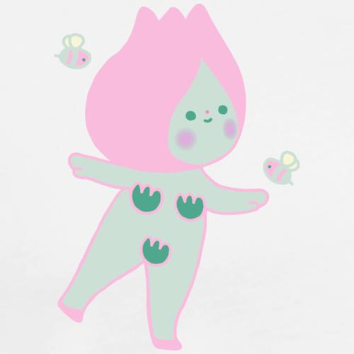 Flora - Camiseta premium hombre