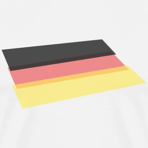 Flagge WM DE2018 - Männer Premium T-Shirt