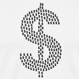 dollar sign - Men's Premium T-Shirt