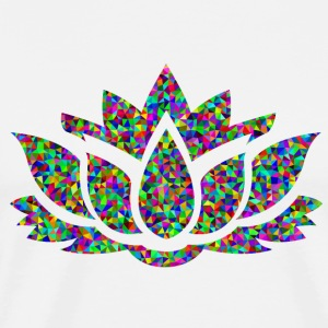 Colourful Lotus - Men's Premium T-Shirt
