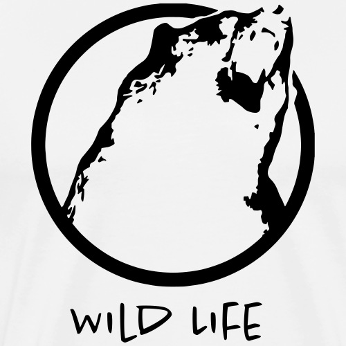 Wild Life - GRIZZLY - T-shirt Premium Homme