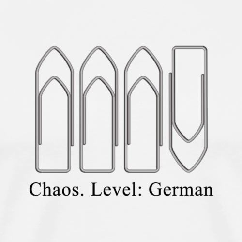 Chaos - Männer Premium T-Shirt