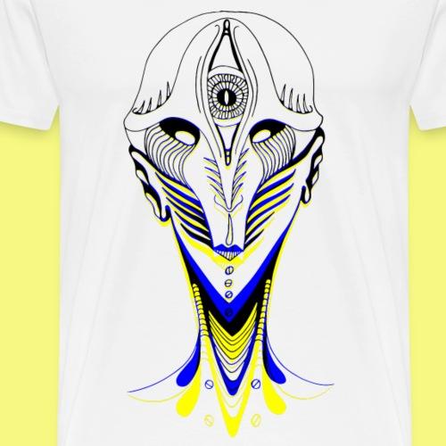 Féminité asymétrique - T-shirt Premium Homme