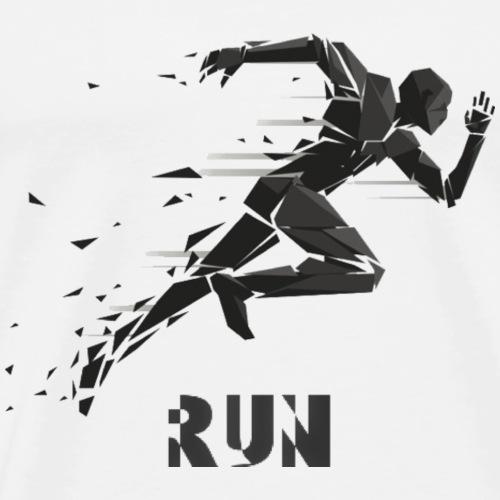 RUN - Camiseta premium hombre