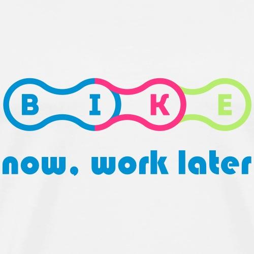 Fahrradkette - Fahrrad fahren - Männer Premium T-Shirt