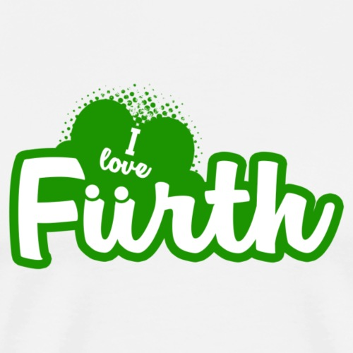 I Love Fürth - Männer Premium T-Shirt