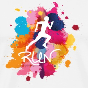 RUN Colorful - Men's Premium T-Shirt