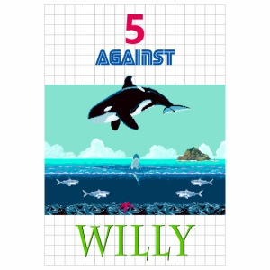 5 AGAINST WILLY - Männer Premium T-Shirt