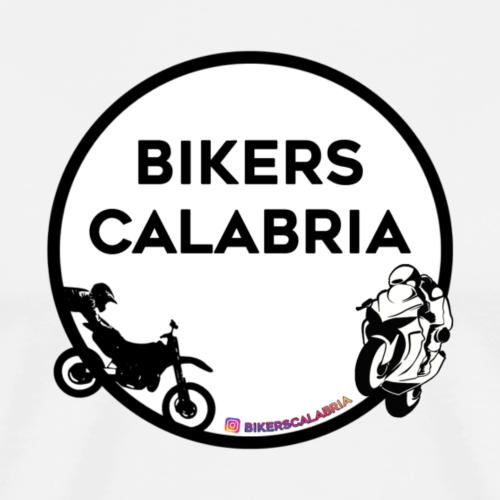 Logo con prodotto bianco - Maglietta Premium da uomo