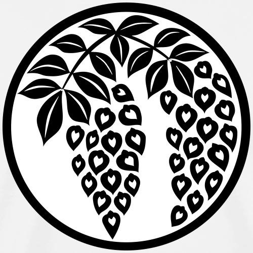 Japanisches Motiv Weintraube - Budo - Männer Premium T-Shirt