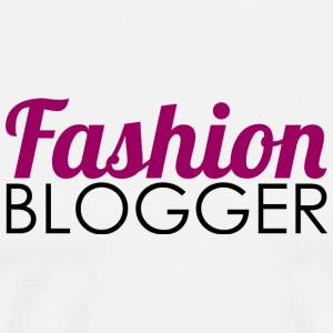 Fashion Blogger - Mannen Premium T-shirt
