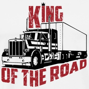King Of The Road - Premium-T-shirt herr