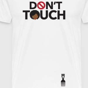 Do not Touch (My Hair) - Premium T-skjorte for menn