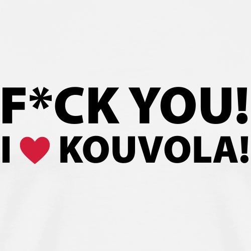 I LOVE KOUVOLA! - Miesten premium t-paita