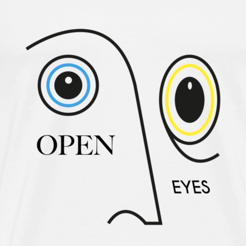 OPEN EYES - T-shirt Premium Homme